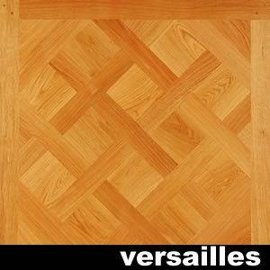 Panneaux et motifs en contrecollé chêne RU/CA - 16 x 629 x 629 mm - Verni mat - Versailles - PROMO