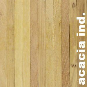 Parquet Industriel Acacia - 14 x 09 x 250 mm sur chants - PROMO