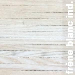 Parquet Industriel Frene Blanc - 21 x 08 x 230 mm sur chants - PROMO