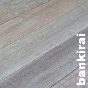 Bankirai bangkirai - Parquet massif gris clair ...