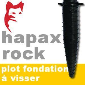 hapax plot de fondations visser hapax. Black Bedroom Furniture Sets. Home Design Ideas