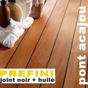parquet pont de bateau acajou prefini 12 x 90 mm huil. Black Bedroom Furniture Sets. Home Design Ideas