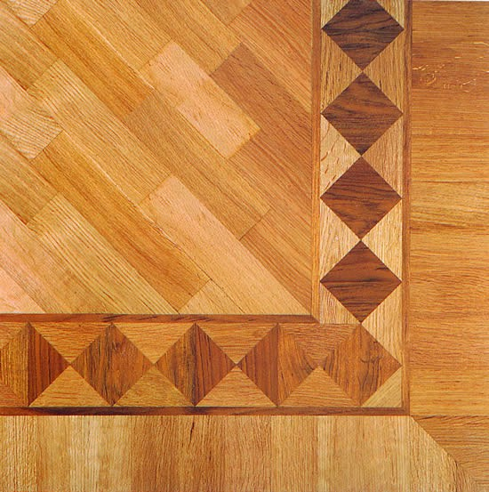 Frise parquet en marqueterie rossini 10 mm for Decaper un carrelage encrasse
