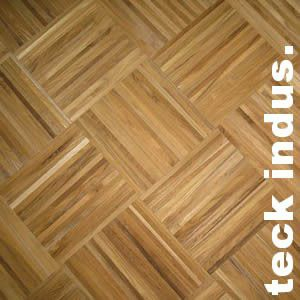 parquet industriel teck afrique 14 x 10 x 260 mm sur chants massif. Black Bedroom Furniture Sets. Home Design Ideas