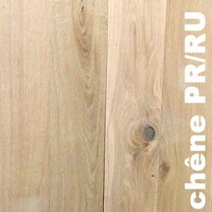 Parquet contrecollé Chêne Premier / Rustique - 16(4,5) x 140 mm - brut - PROMO