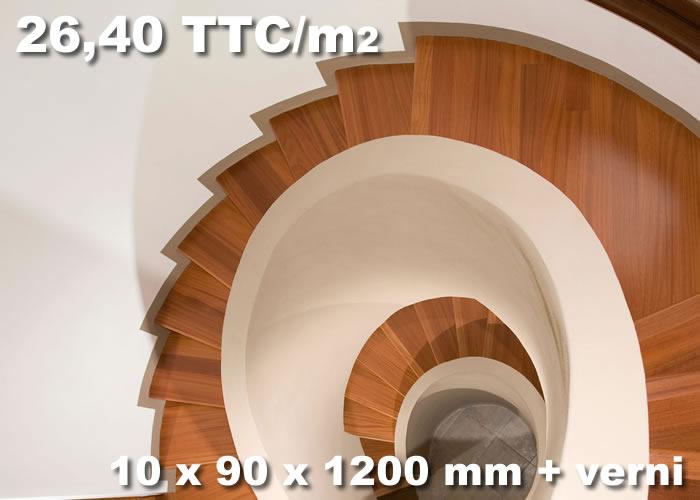 PARQUET CONTRECOLLÉ DOUSSIE - 10 X 90 X 1200 MM - VERNI