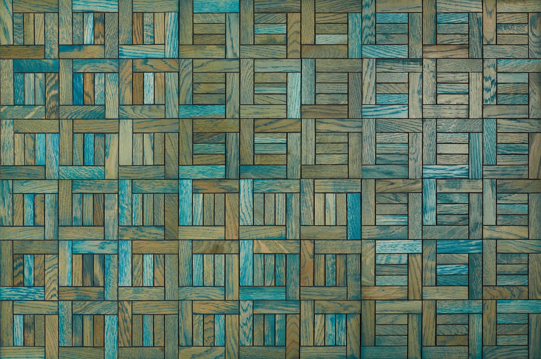 Panneau mural - Mosaiques 3D - Stockholm blau