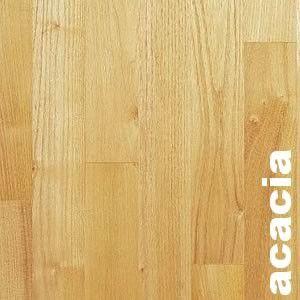 Parquet contrecollé Acacia - 16 x 90 mm - brut