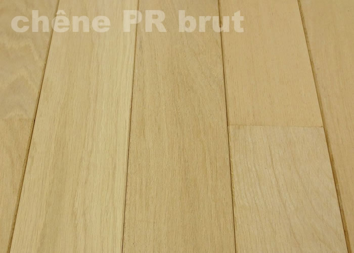 Parquet massif Chene Europe PR - 20 x 80 mm brut