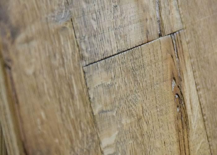 Parquet contrecollé chêne Cotton - 15 x 190 x 1900 mm - huilé noir