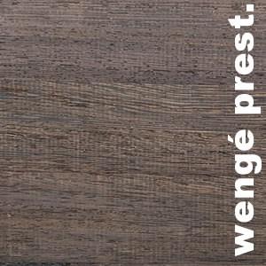 Parquet massif Wenge Prestige - 10 x 70 x 400 / 500 / 600 mm - Brut