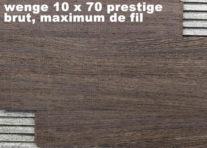 Parquet Massif Wenge Prestige - 14 x 90 x 700 / 1000 mm - brut