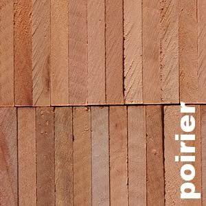 Parquet Industriel Poirier - 23 x 08 x 160 mm sur chants