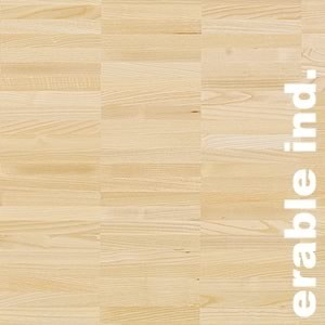 Parquet industriel sur chants en Erable