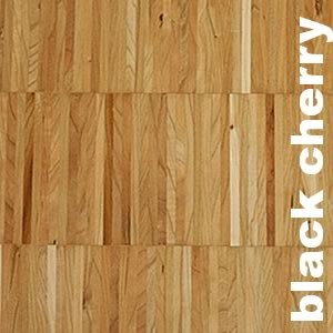 Parquet industriel sur chants en Merisier, Black Cherry
