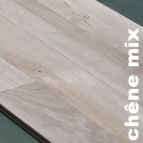 Parquet massif Chene Mix - 20 x 170 mm - brut - PROMO