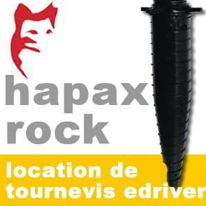Hapax - Plot de fondations à visser - Location de Visseur E-driver - Hapax