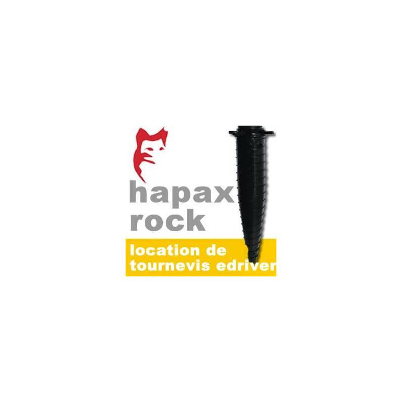 Hapax   Plot De Fondations à Visser   Location De Visseur E Driver   Hapax