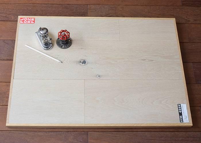 Parquet Contrecollé Chêne Rustique - 14 x 182 mm - verni - Myra