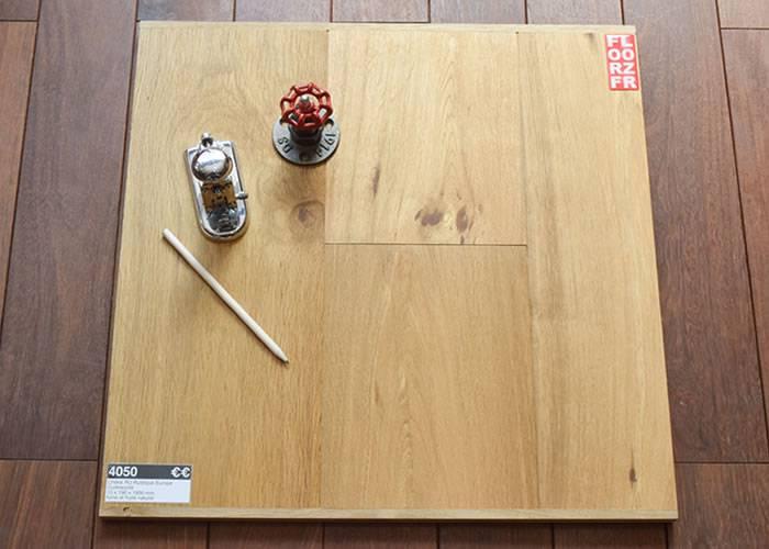Parquet contrecollé Chêne - 15 x 190 x 1900 mm - fumé - huilé naturel - Oural