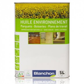 Finition - Huile Environnement Blanchon - 5 litres - Bois Naturel