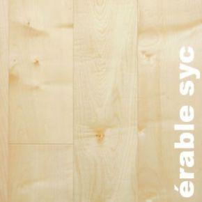Parquet contrecollé Erable - 15,5 x 180 mm - verni