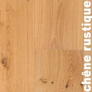 Parquet massif Chêne Rustique - 14 x 90 mm - Verni incolore