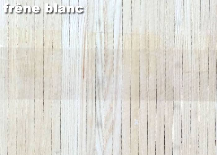 Parquet Industriel Frene Blanc - 21 x 08 x 280 mm sur chants - PROMO
