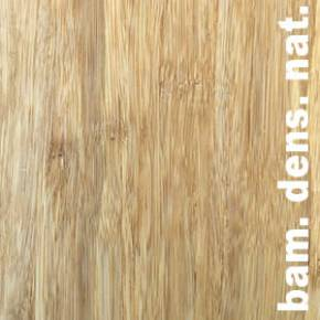 Parquet massif Bambou SOLIDA MOSO - 14 x 137 x 1850 mm - Verni - Naturel - Vertical