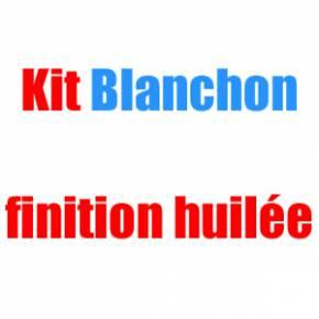Kit Blanchon pour parquets en chêne bruts à huiler - 50 m2