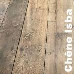 Plancher Chêne ancien recyclé Isba Russe - 22 x 100 à 200 mm - brut - Minsk