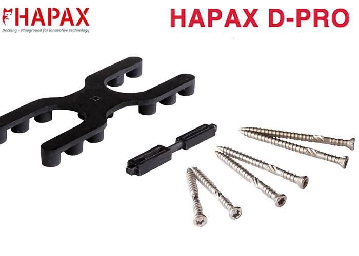Vis Inox A4 pour Hapax D-PRO - 5,5 x 30 mm - Boîte de 200 pièces