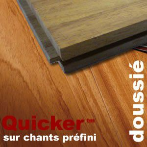Parquet Industriel Doussié sur chants préfini Quicker - 14 mm