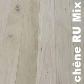 Parquet Contrecollé Chêne Brut - 15 x 142 x 2200 mm - Brut - Mountain Top
