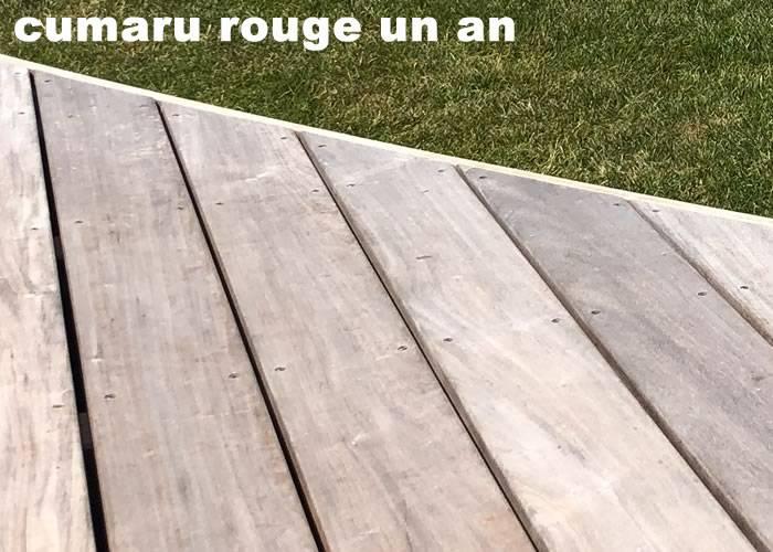 Terrasse - Lames parquet massif CUMARU - 20 x 140 x 2160 mm