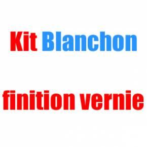 Kit Blanchon pour parquets en chêne bruts à vernir - 50 m2