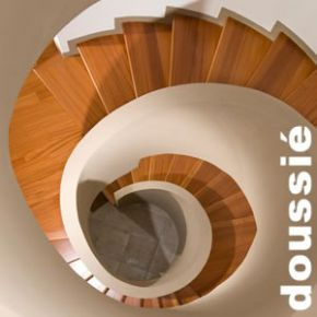 Parquet Massif Doussié Select - 14 x 120 mm - verni - brossé - raboté