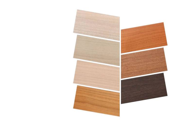 Contrecollé Eucalyptus Crème - 12 x 215 x 2200 mm - verni