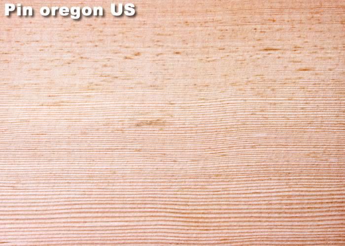 Parquet massif  Pin Oregon US - 25  x 140 mm - Brut