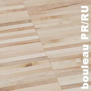 Parquet Industriel Bouleau EU - 22 x 08 x 160 mm sur chants
