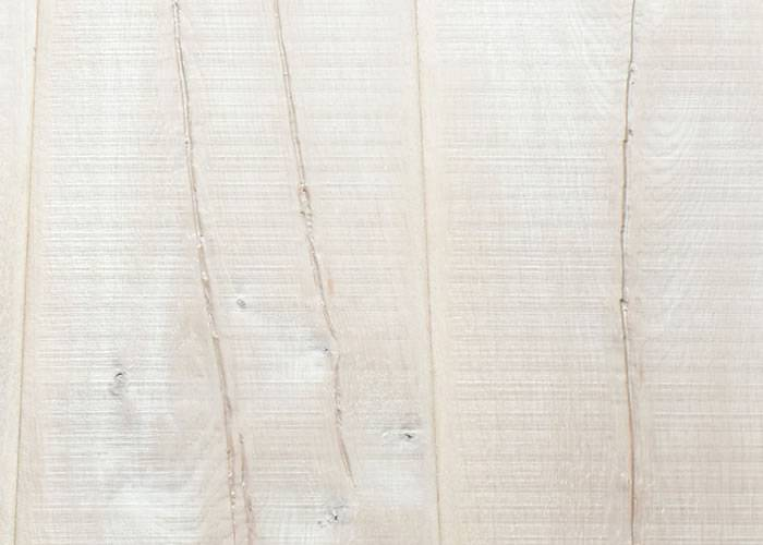 Parquet Contrecollé Chêne Rustique - 18 x 220 x 2200 mm - Huilé blanc