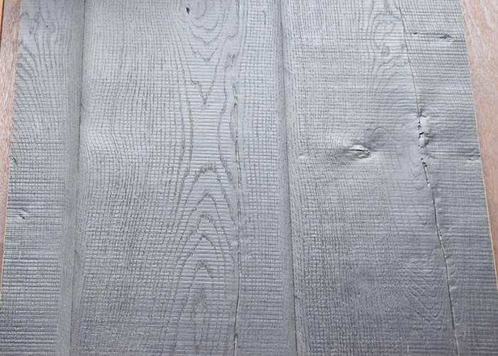 Parquet Contrecollé Chêne Rustique - 18 x 220 x 2200 mm - Huilé noir