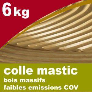 Colle Parquets PS mono composant - seau de 6 kg - Faible COV