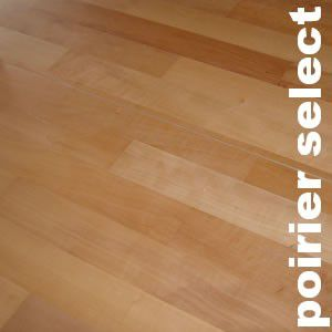 Parquet massif Poirier Select - 22 x 70 mm - brut