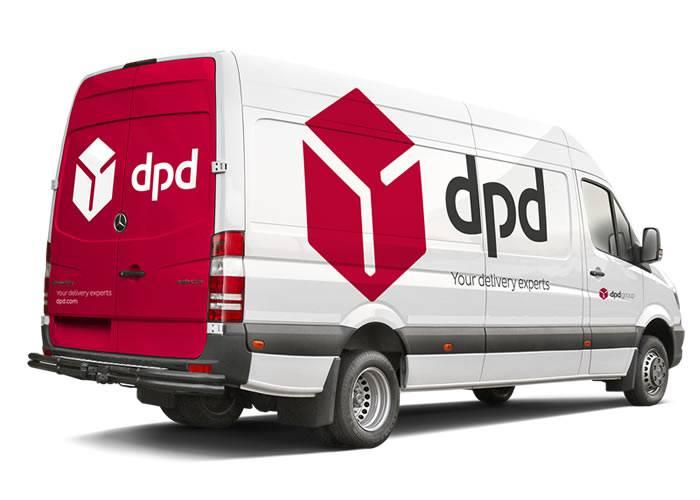Envoi panneaux showroom par DPD