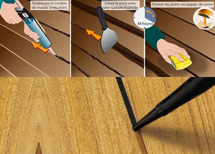 Joint Mastic Acrylat pour finition périphérie