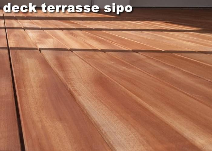 Parquet contrecollé Sipo - 16 x 145 mm - Verni - Lyon Part Dieu