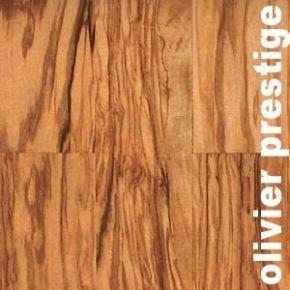 Parquet Contrecollé Olivier - 10 x 90 mm - verni