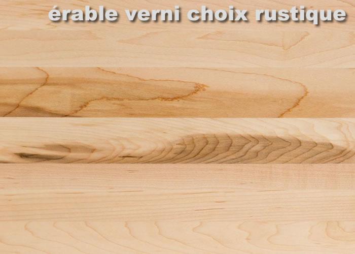 Parquet massif Erable Sycomore Premier - 23 x 70 mm - brut