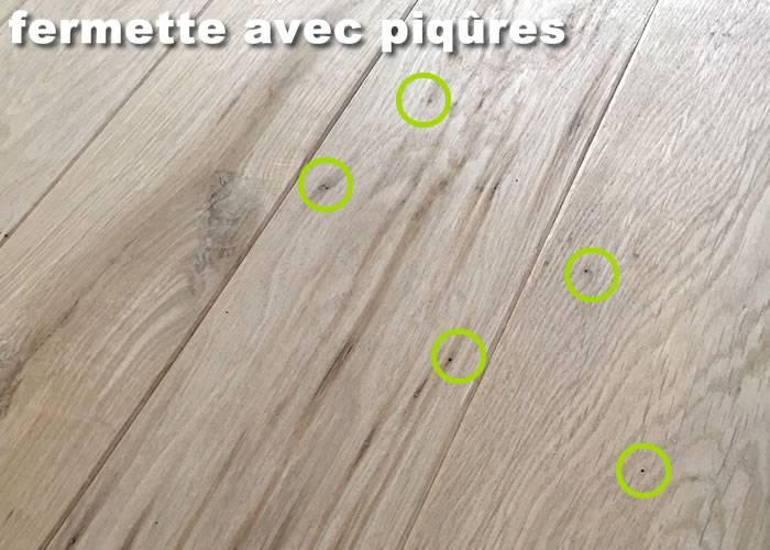 Parquet Massif Chêne Fermette - 20 x 140 mm - Brut - Montreuil - PROMO